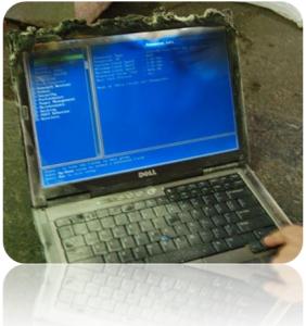 computadora muerta