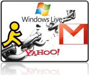 Usuarios de Gmail y Yahoo! también víctimas de phishing elevan el número a +30.000