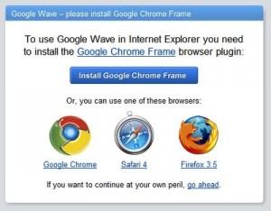 Chrome Frame crea brecha de seguridad en el IE