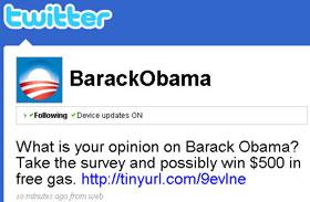 Detienen a un ciberpirata que hackeó la cuenta de Obama en Twitter