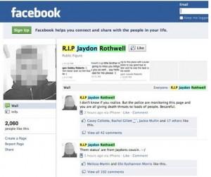 Dos jóvenes hacen creer a una compañera que tiene un novio en Facebook y que se suicida
