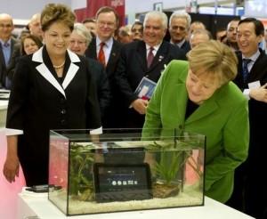 La seguridad informática centra la feria CeBIT que abren Rousseff y Merkel