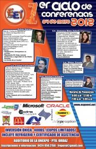 Ciclo de conferencias EEI-2012 inicia este viernes 4 de mayo en Puerto Ordaz