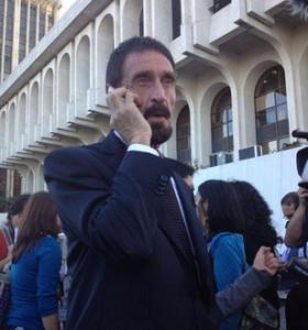 McAfee, creador de sistemas antivirus, pide asilo político en Guatemala