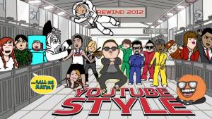 YouTube cierra el año con un video de lo más popular del 2012