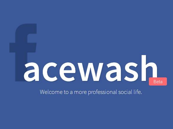 Facewash, una app que