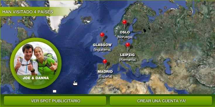 Los viajeros tienen su propia red social