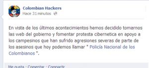 Los hackers con el Catatumbo Colombia