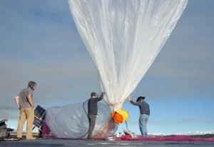 Google lanza globos para dar acceso a Internet en áreas pobres