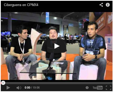 Cyberwar: Documental en Campus Party 4 México
