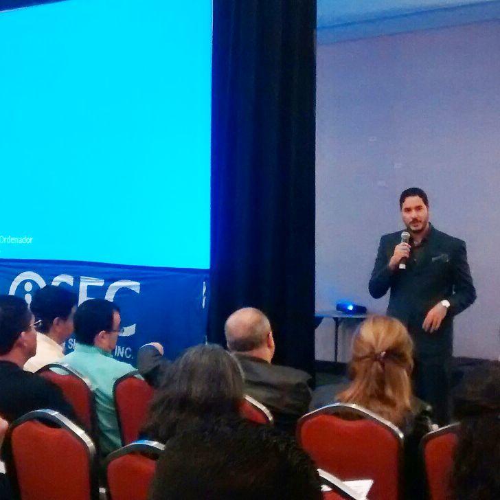 ISEC Infosecurity Tour 2017, con Rafa Núñez