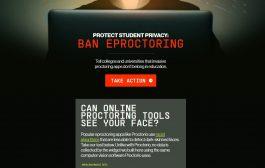 Este sitio web enlista las universidades y colegios que utilizan cámaras web para monitorear las actividades de sus estudiantes