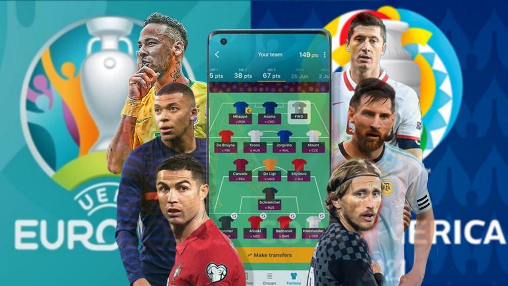 La Copa América y la Euro también tendrán sus competencias de fútbol fantasy con NFT